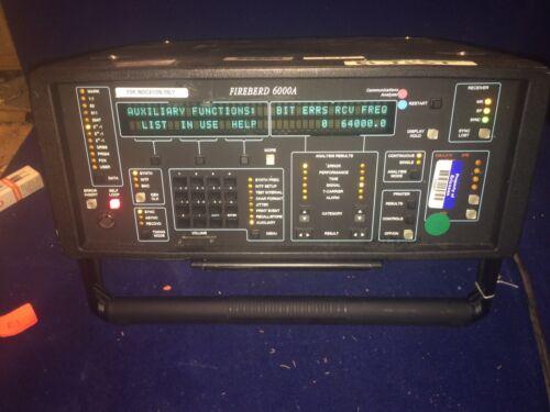 JDSU TTC FIREBIRD 6000A Communications Analyzer Opts 6001 6003 6010