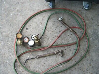 Victor Welding Torch With Hoses And Gauges