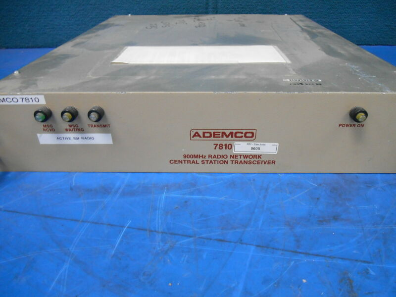 Ademco Central Station receiving Unit 7810 SN 00473CS