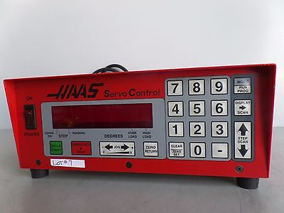 Software-39 Brush 17 Pin Haas Control Box Sco1m Rotary Table Indexer Inv. 7 Lms