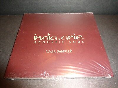 INDIA ARIE ACOUSTIC SOUL-VVIP Sampler-Rare Collectible CD-Butterfly, Brown Skin