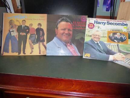 HARRY SECOMBE VINYL RECORDS