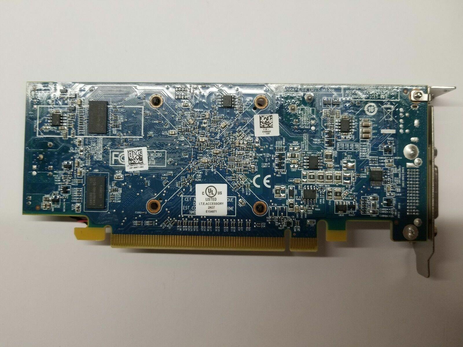 ::DELL Windows 10 DUAL MONITOR VGA Video  Graphics Card AMD HD Radeon 6350 SFF HP