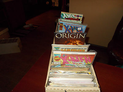 Lot of 50 Different ALL X-Men Comic Book Titles Wolverine Uncanny Grab Bag Gift