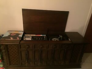 Wooden Furniture Disc Player