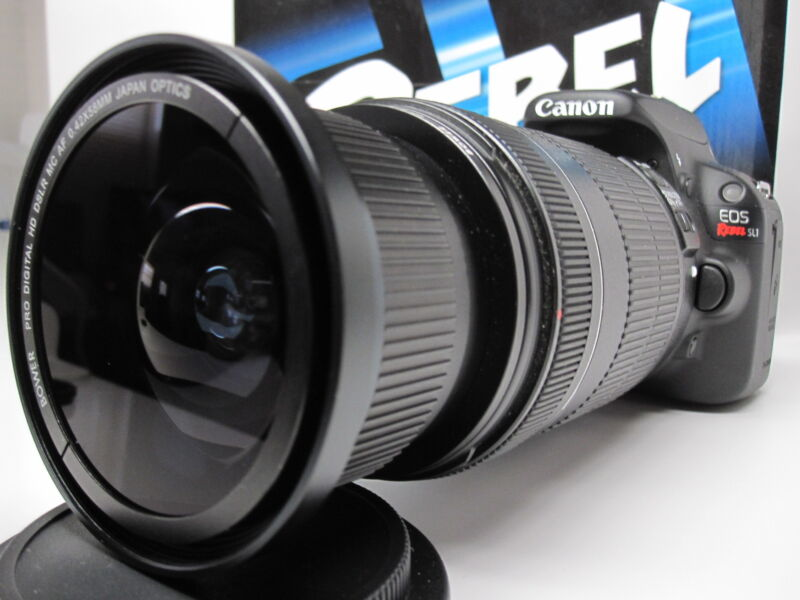 Ultra Wide Angle Macro Fisheye Lens for Canon Eos Digital Rebel & 35mm f/1.4 USM