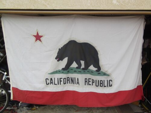 """9.5x5.8ft 114x70"""" CALIFORNIA Golden State OFFICIAL STATE FLAG OUTDOOR / INDOOR"""