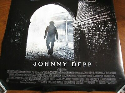 Sweeny Todd Advance Poster - Johnny Depp - Approx. 40 X 27 - Double-sided- 2007 - $16.87