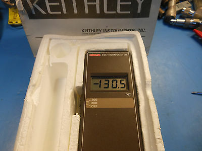 Keithley Instruments Inc 865 Thermometer Range -70f To 300f