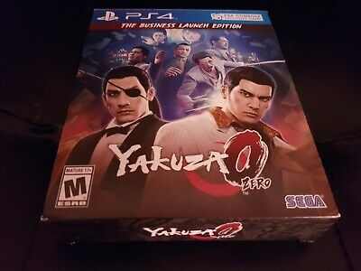 Yakuza 0 Zero (Business Edition) [PS4] [PlayStation 4] [2017] [Complete!] comprar usado  Enviando para Brazil