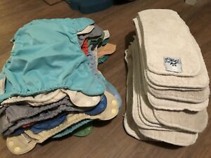27 FLIP diaper shells with cloth inserts