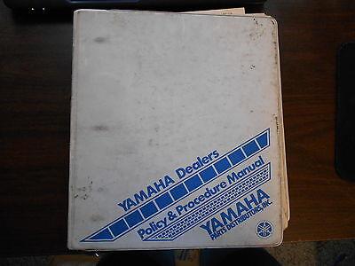 Yamaha Parts Dealer - YAMAHA OEM DEALER PROCEDURE MANUAL PARTS AND DISTRIBUTION