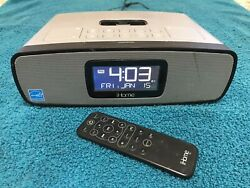 IHome iP90 Clock Radio/iPod Dock With Remote And Adapter (No Inserts)
