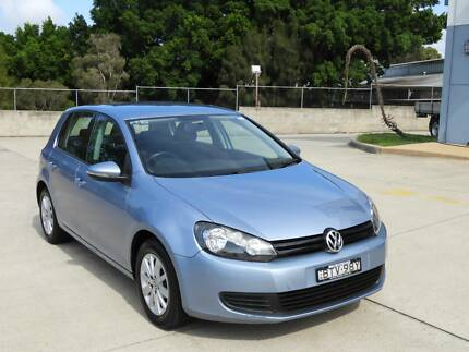 2011 vw golf hatch tdi 1 owner only 60000ks auto must see Homebush West Strathfield Area Preview