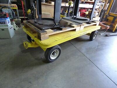 Quad Steer Tracker Shop Cart 4 X 8 Nice 1 Ton