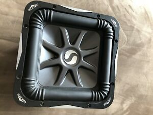 Kicker L7 solo-Baric 4 OHM dual voice cool subwoofer