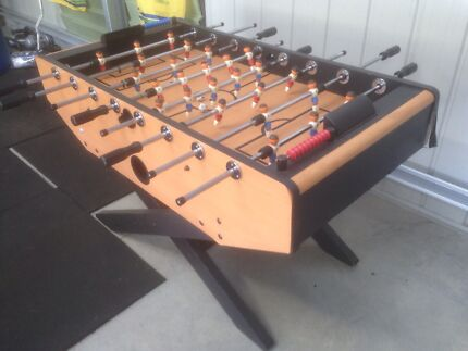 Wooden Soccer table Royalla Queanbeyan Area Preview