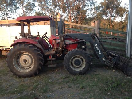 Case JX90 90HP 4x4 4x4 Tractor with HD Howard Front End Loader Kilkivan Gympie Area Preview