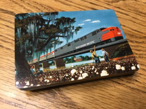 Southern Pacific Railroad playing cards in original box. Complete