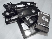 VSH and 8mm tapes to Digital format