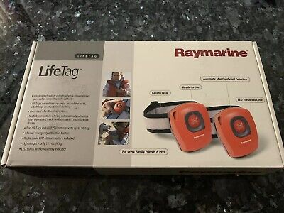 NEW Raymarine Lifetag Wireless Man Overboard System Pods SeaTalk