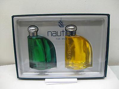 NAUTICA CLASSIC FOR MEN 3.4 oz EAU DE COLOGNE SPRAY+3.4 AFTER SHAVE 2 PIECES SET