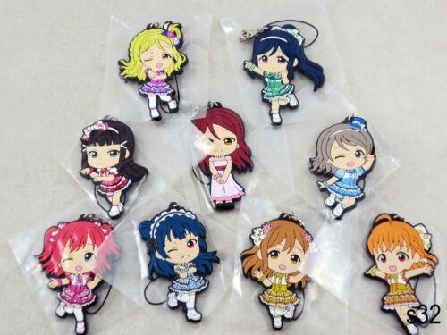 Choose One - Love Live Sunshine Rubber Strap Omoi yo Hitotsu ni Nare Set Aqours