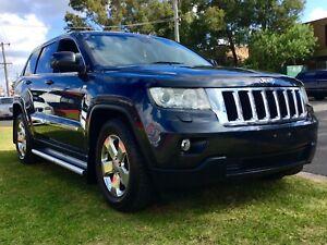2012 Jeep Grand Cherokee LAREDO 4x4 Turbo Diesel Auto Luxury SUV Wagon Leumeah Campbelltown Area Preview