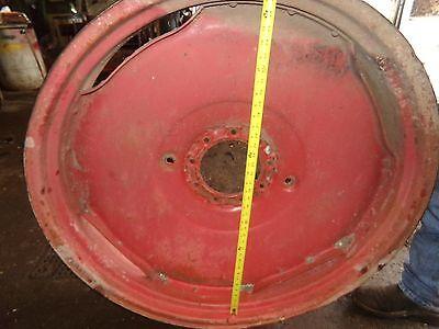 Minneapolis Moline Rtu Tractor  Rear Press Steel Rim