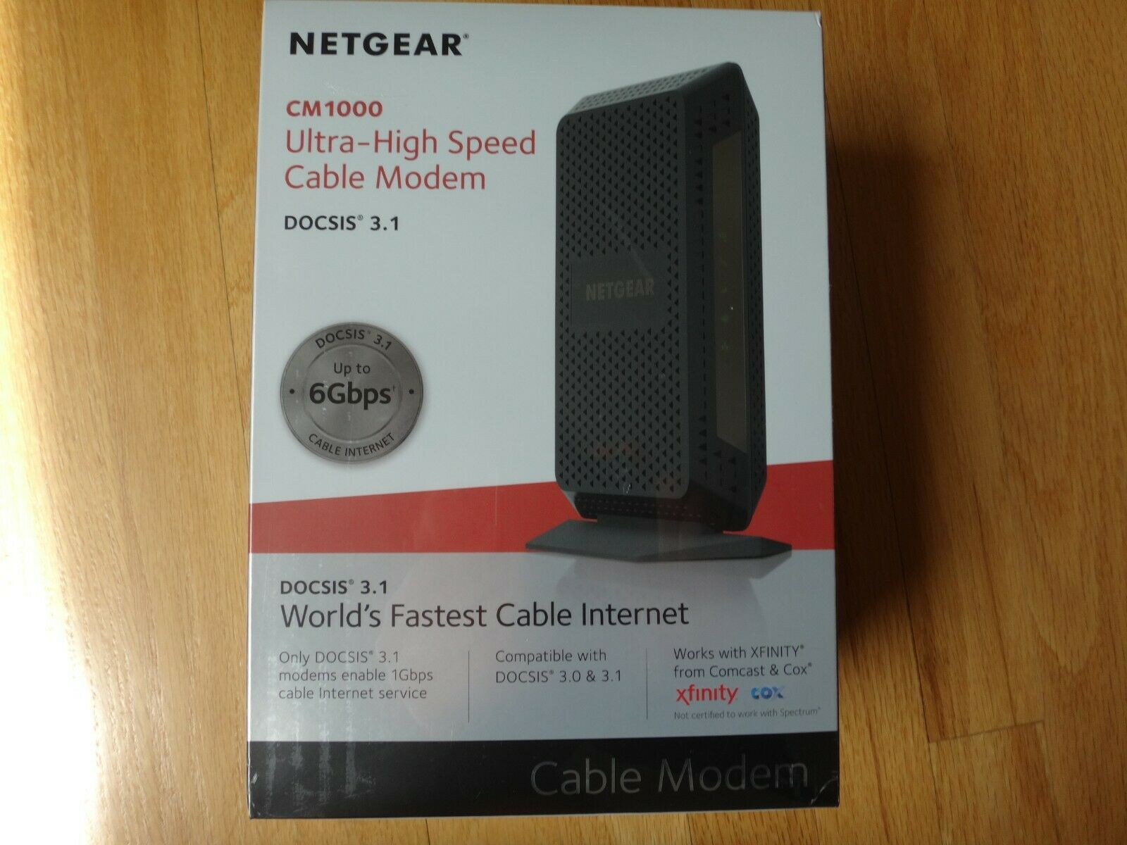 NETGEAR Gigabit Cable Modem  DOCSIS 3.1 | for XFINITY by Com