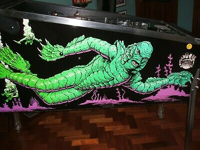 Creature from the Black Lagoon Pinball. Super lockdown antidote!