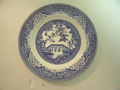 Blue Willow Guinness Advertising Plate