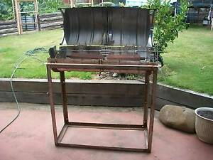 Double Keg Spit Roast Rotisserie With Motor Forks Support Franklin Huon Valley Preview
