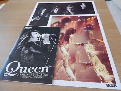music memorabilia: Queen-Booklet-Album by Album(32 Pages)