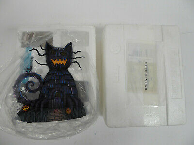 CAT HOUSE NIGHTMARE BEFORE CHRISTMAS HAWTHORNE VILLAGE COLLECTION