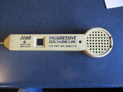 Progressive Electronics 200b Inductive Amplifier - Tested - Works Great
