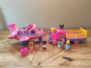 Fisher Price Little People Place and Train