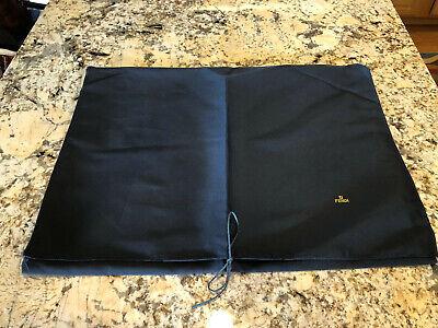 Fendi Dustbag Dust Bag Travel Accessory Purse Storage Black