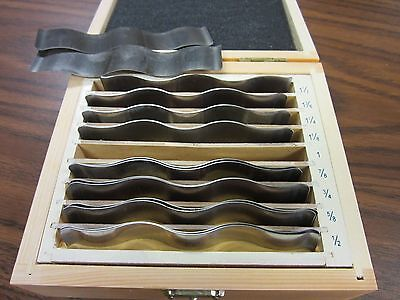 18pcsset Precision Wavy Steel Parallel Set 7003-wy--new