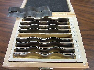 18pcsset Precision Wavy Steel Parallel Set 7003-wy--new