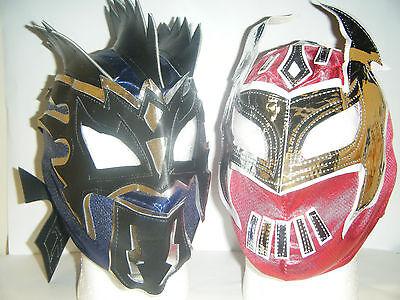 Kalisto & Sin Cara Kid Kinder Kopf Wrestling Maske Wwe Kostüm - Sin Cara Wwe Kostüm