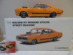 1:18 Biante Holden HT GTS 350 Monaro Custom Orange with Black stripes Blown