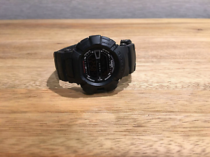 G-Shock - Matte Black Mudman Chiswick Canada Bay Area Preview