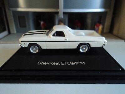 SCHUCO   CHEVROLET  EL CAMINO   WHITE       1/87  HO  DIE CAST