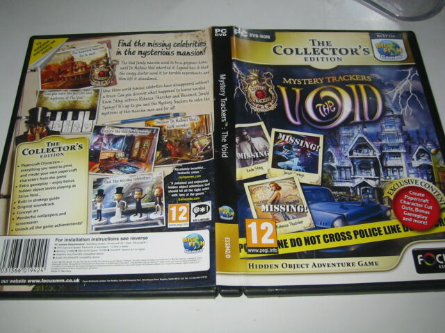 PC DVD-ROM, MYSTERY TRACKERS, THE VOID