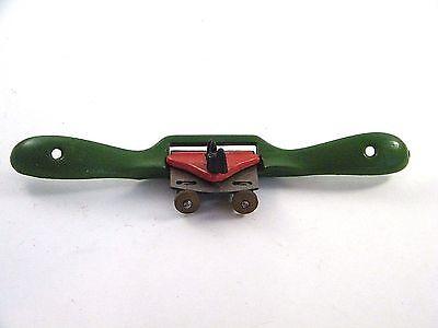 Vintage Kunz Adjustable Plane 51a 9.5 9 12 Green Red Metal