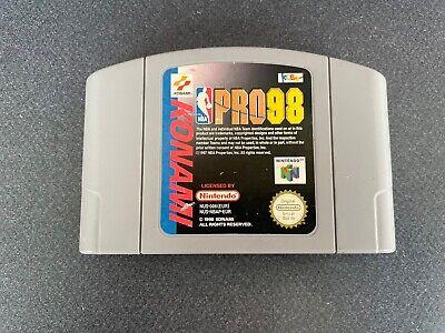 Nba Pro 98 (Nintendo 64 N64 1998) Solo cartucho