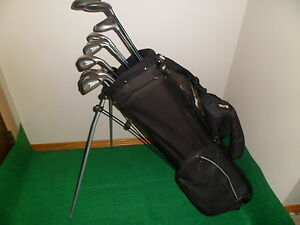 mens right hand 14 piece golf set.