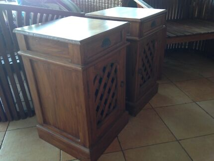 Balinese Bedside Table
