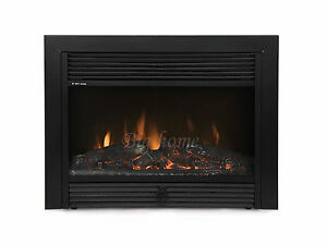 28-034-Electric-Firebox-Fireplace-Insert-Room-Heater-Patented-BIG-28R